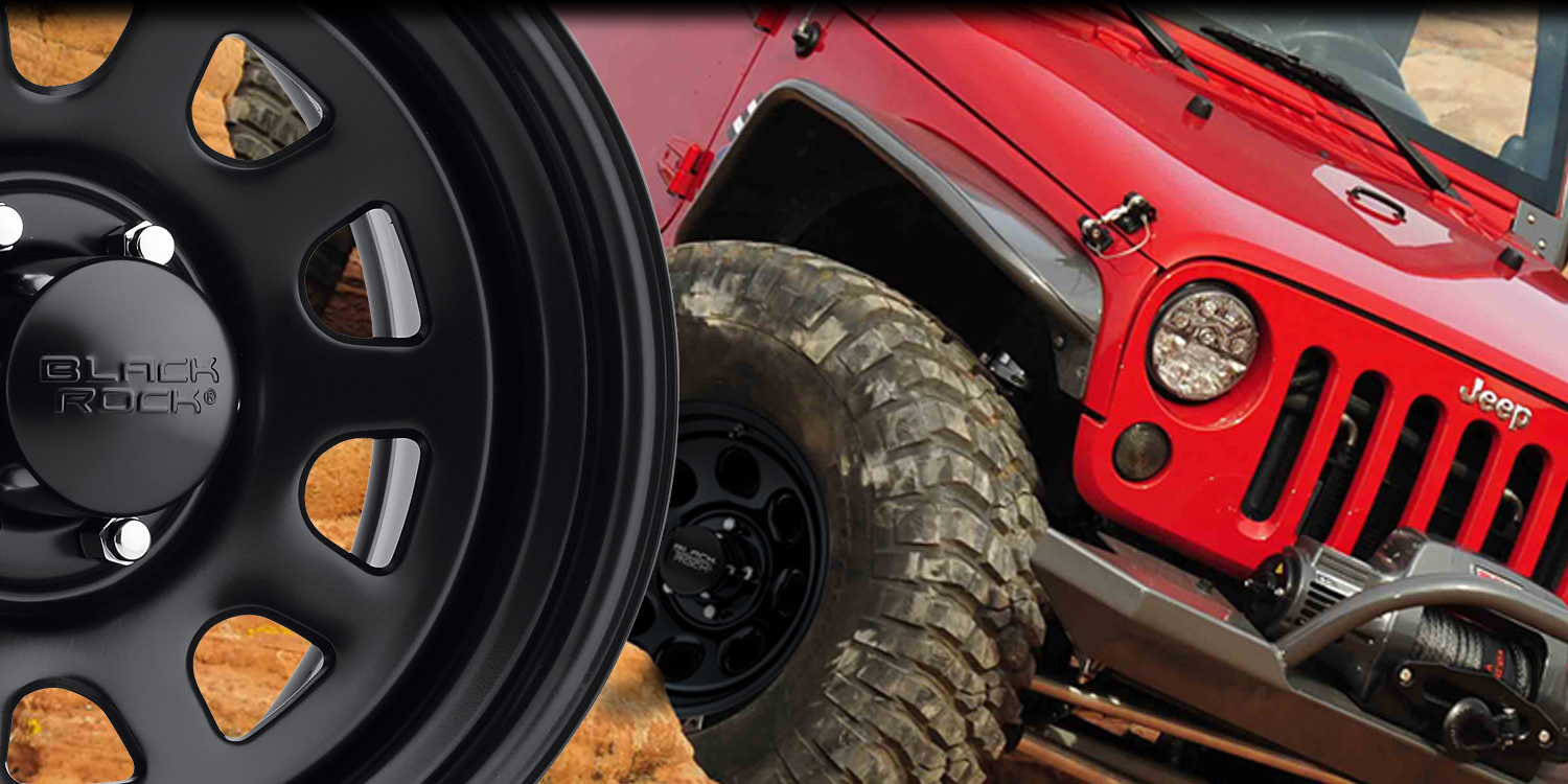 Black Rock Wheels Inspired For Truck Jeep 4 4 And Off Road Vehicles